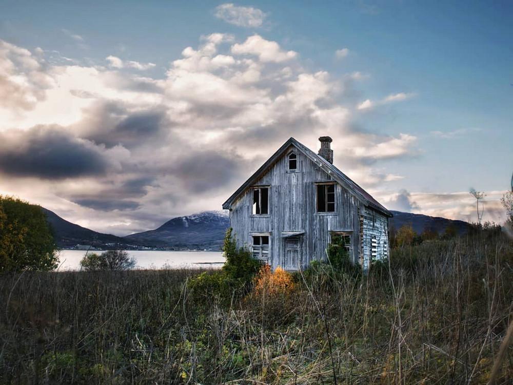 Заброшенная архитектура за северным полярным кругом