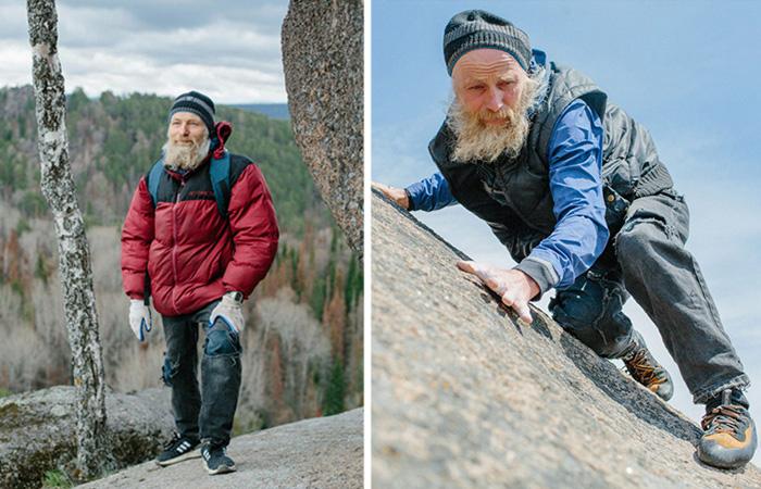 70-летний российский экстремал дед Андроныч раскрыл секреты своей отличной физической формы