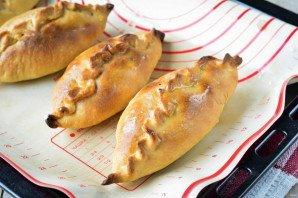 Татарские пирожки с картошкой - фото шаг 14