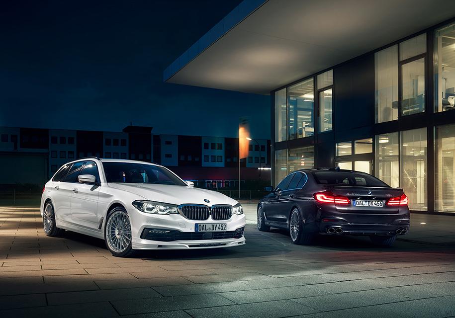 Alpina построила дизельную «пятерку» BMW с полным приводом и тремя турбинами