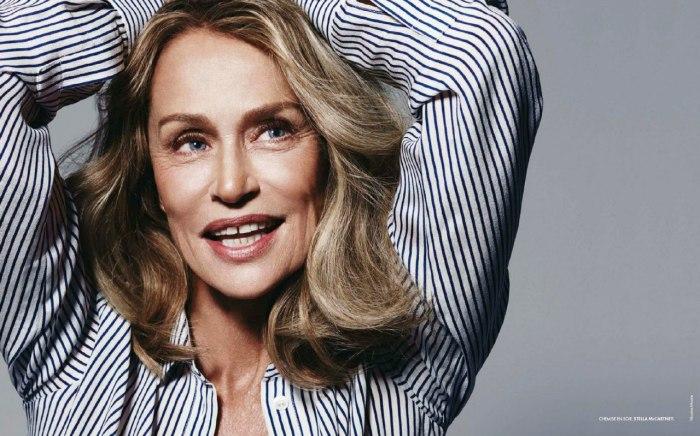 Лорен Хаттон стала звездой рекламной кампании Bottega Veneta. \ Фото: bazaar.ru.
