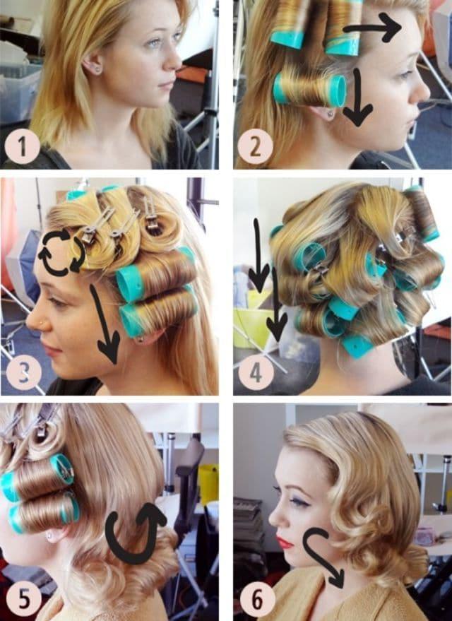 Стильные ретро-прически на разную длину волос внешность,красота,мода,мода и красота,модные сеты,модные советы,модные тенденции,прически,стиль,стиль жизни,стрижки