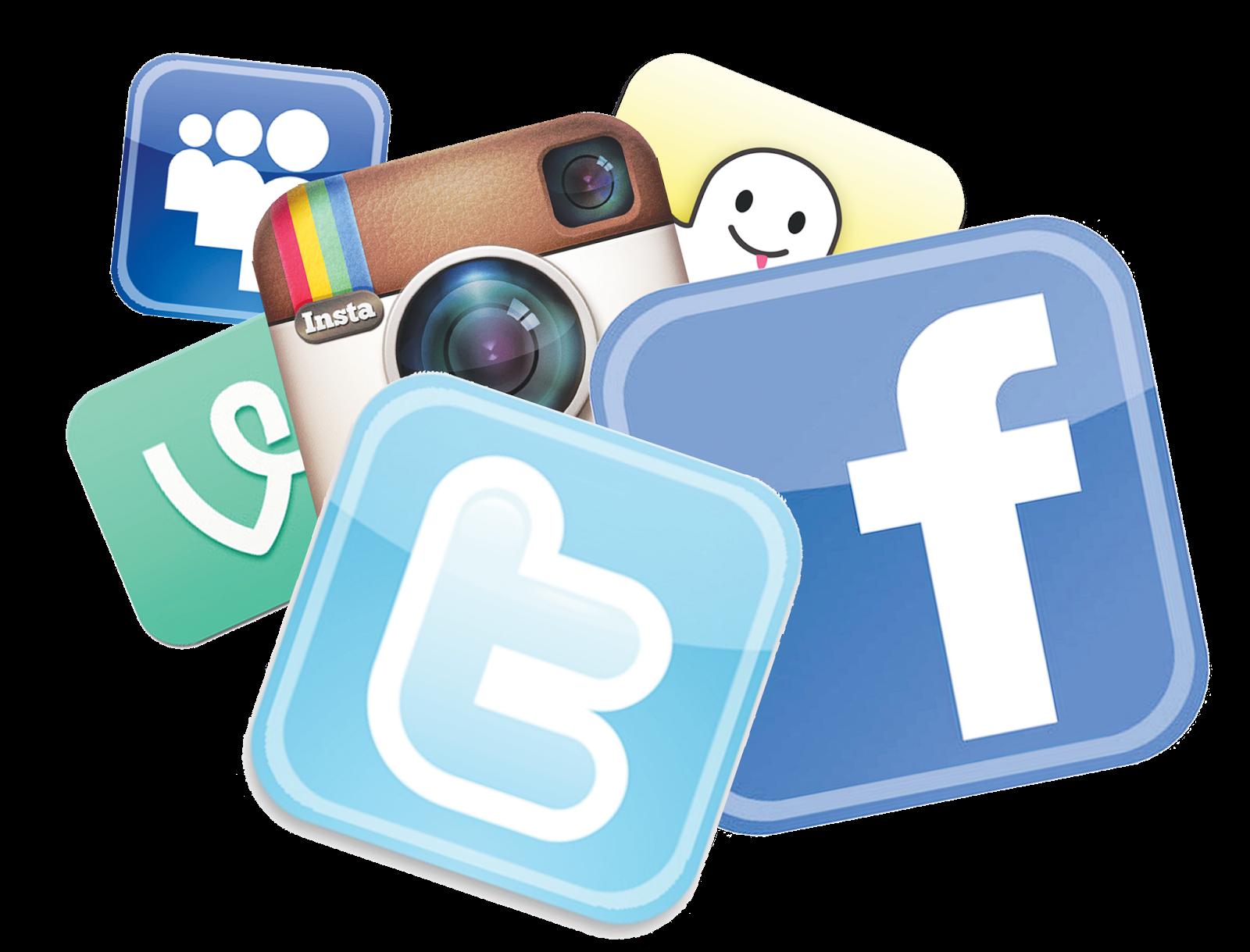 Картинки разных социальных сетей