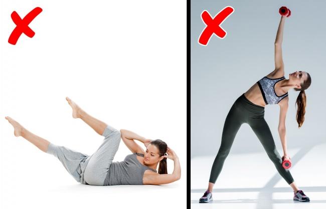 Комплекс упражнений за 9 минут, с которым пресс станет плоским, а талия тонкой