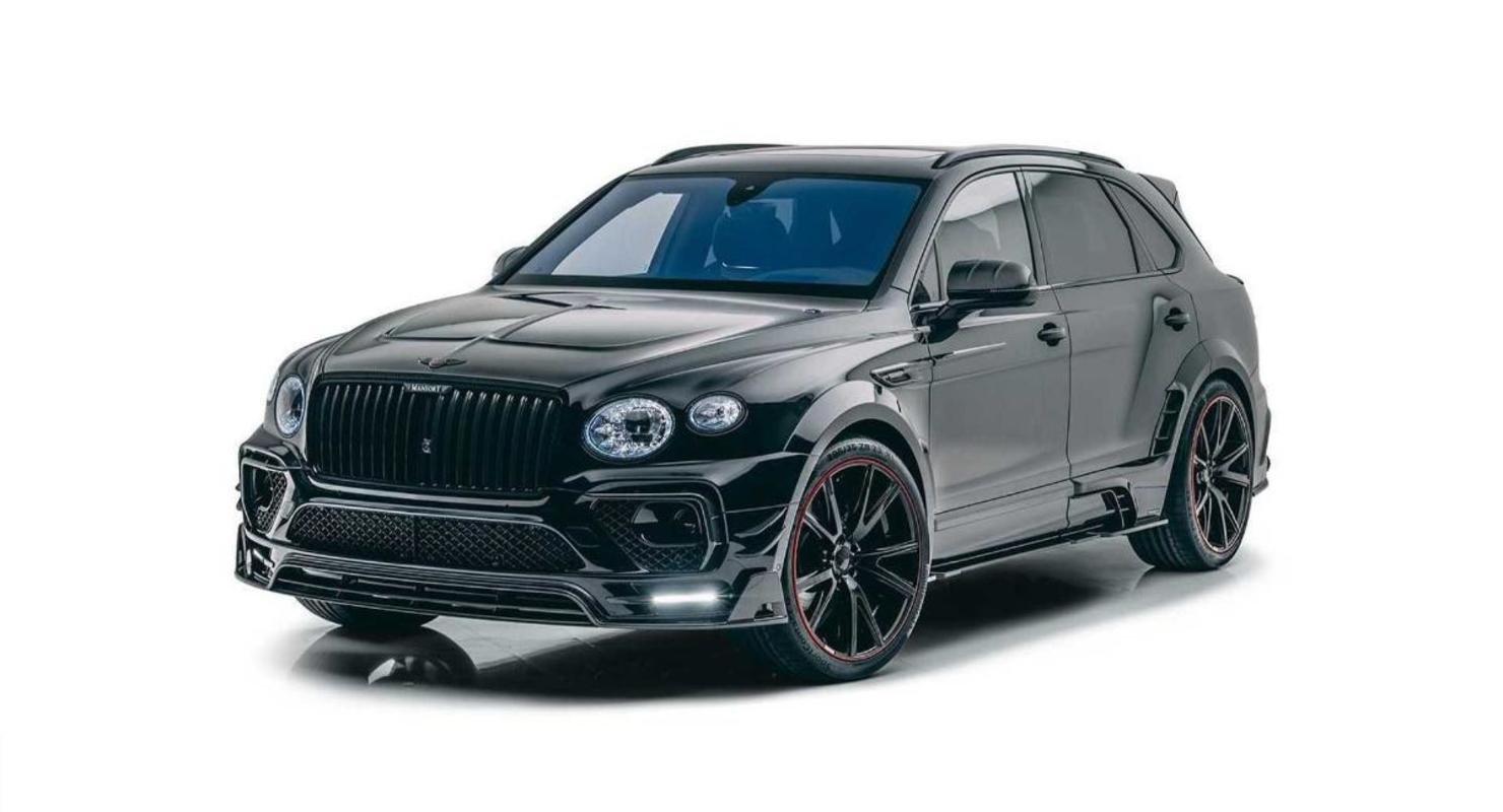 Тюнинг-ателье Mansory добавило мощности и стиля обновлённому Bentley Bentayga Автомобили