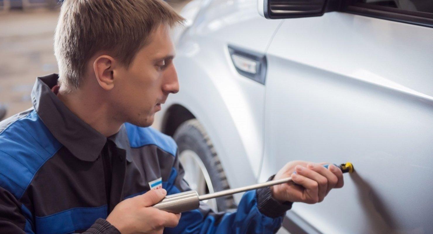 Рихтовка кузовных элементов автомобиля — особенности процедуры Автомобили