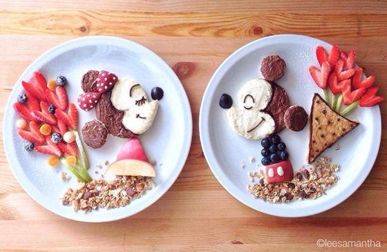 Шедевры на  тарелке, -  лучший  способ  научить  детей  кушать самостоятельно