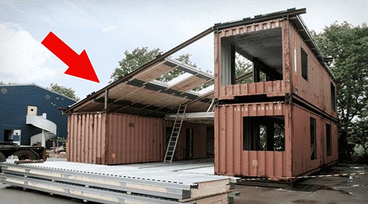 Они взяли три контейнера и построили из них дом, интерьер которого приводит в восторг!