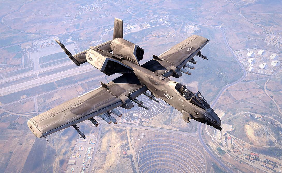 А-10: самолет, которого боятся танкисты