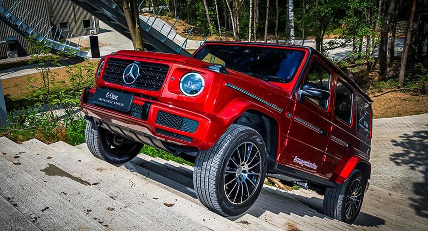 Стали известны сроки дебюта электрического Mercedes-Benz G-Class Автомобили