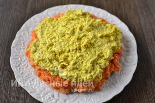 Салат с сельдью — вкуснее чем обычная «Селедка в шубе» еда,пища,рецепты, кулинария