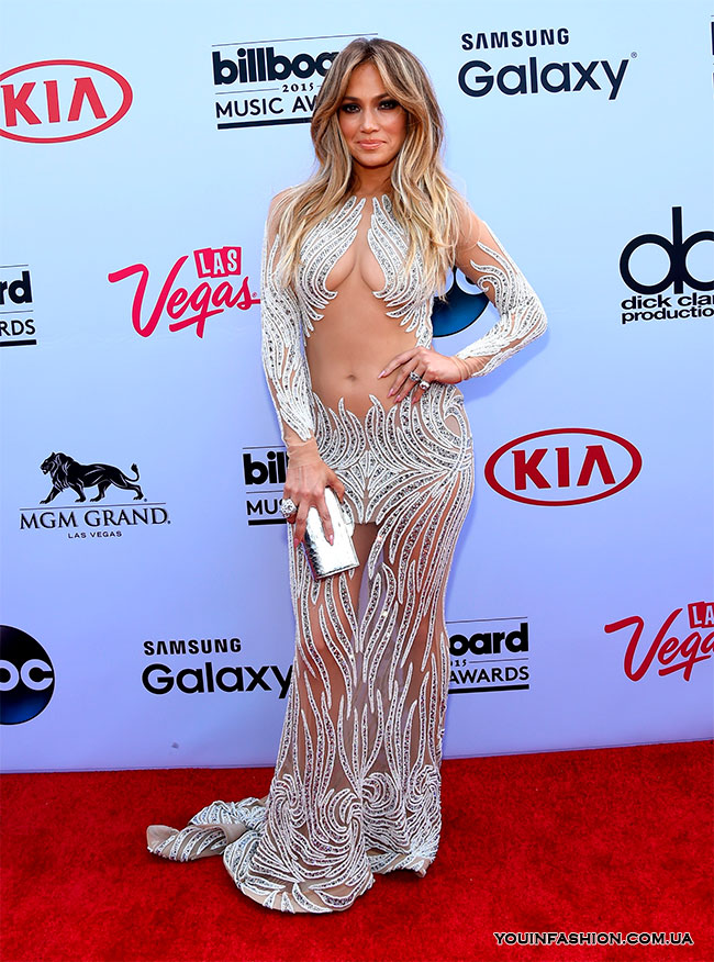 Дженнифер Лопес на премии Billboard Music Awards, 2015 г.