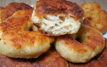 Сырные пышки на завтрак