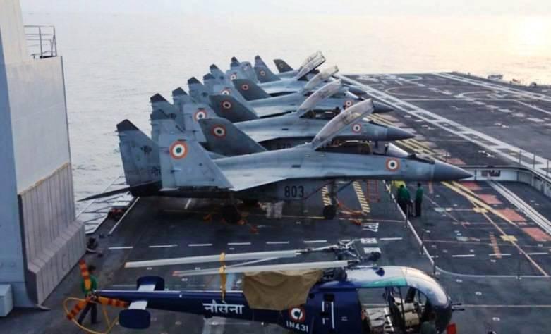 В РФ признали вину за провал программы МиГ-29К в Индии