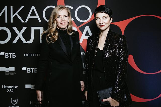 Маша Федорова, Марианна Сардарова, Виктория Шелягова и другие гости ужина Pushkin Gala