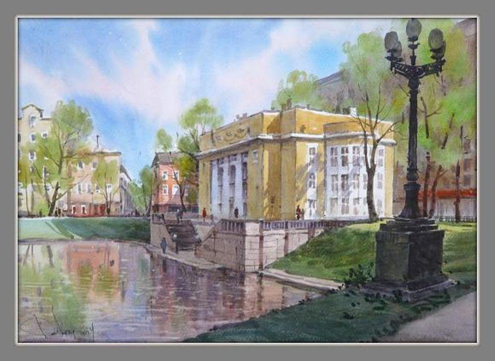Акварельные пейзажи художника Ильи Горгоца, фото № 21