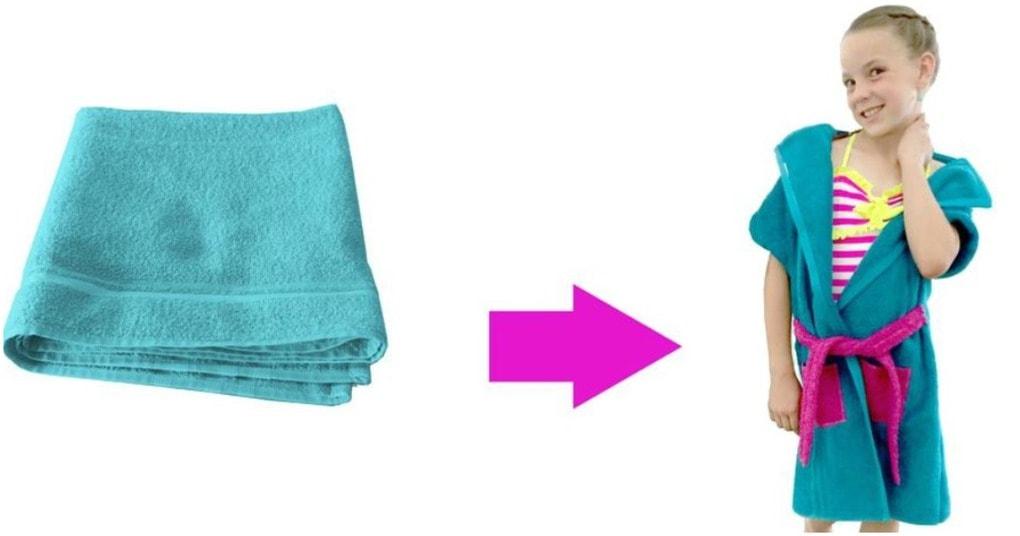 Чудесная и практичная вещь из обычного полотенца