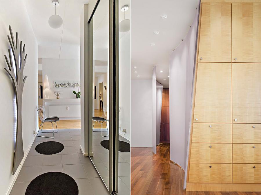 Дизайн интерьера прихожей - выбор мебели
