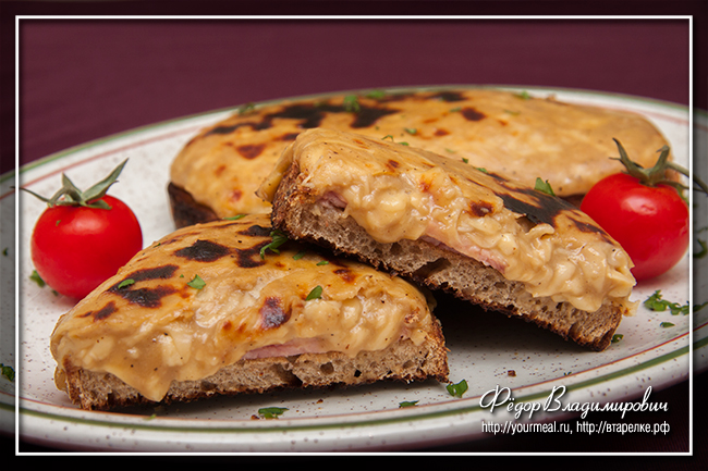 Уэльские сырные гренки (Welsh rarebit)