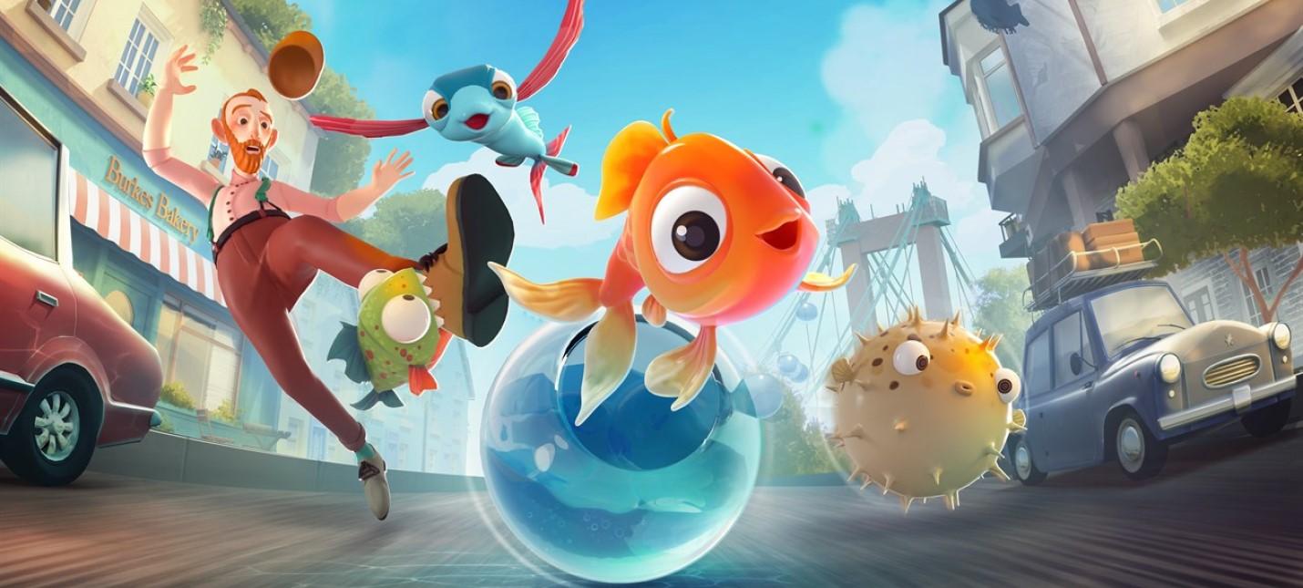 Помогите рыбкам сбежать из аквариума action,adventures,pc,ps,xbox,Аркады,Игры,Приключения