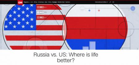 CNN: Где жить хорошо? США vs Россия