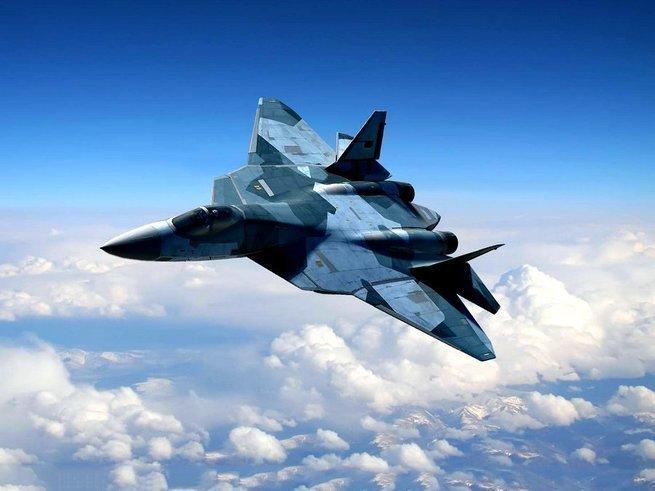 Еще два Су-57 приземлились в Хмеймиме.Сомнений в том, что Су-57 будут выполнять боевые задачи - не осталось