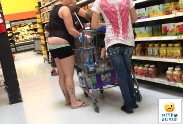 Странные наряды посетителей американских супермаркетов