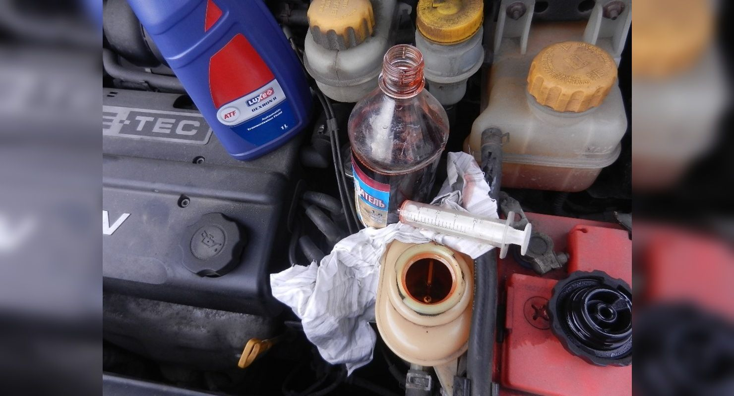 Нужно ли менять жидкость в гидроусилителе руля Автомобили