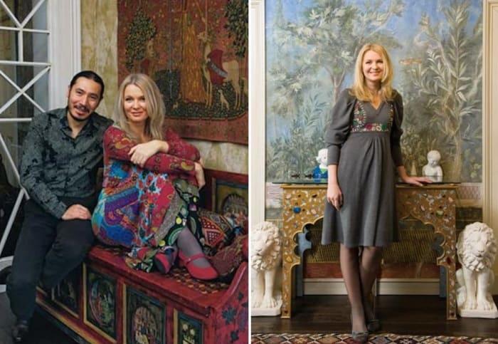 Анастасия Немоляева с мужем | Фото: biography-life.ru, houses.ru