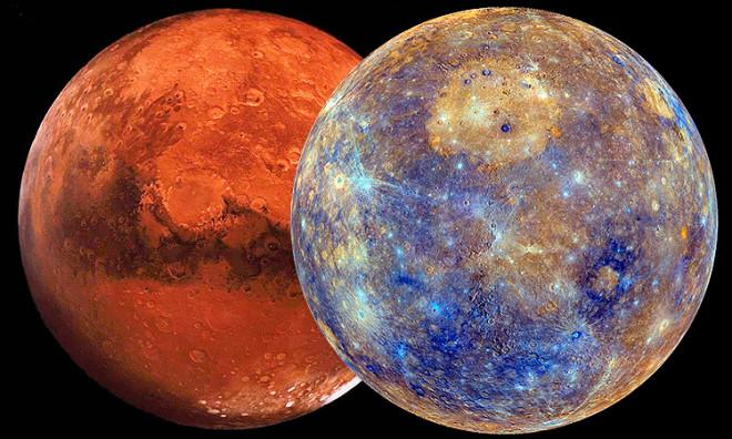 Марс оказался планетой из другой галактики
