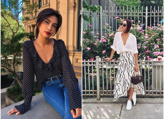 5 стильных блузок, которые будут в моде весной 2018