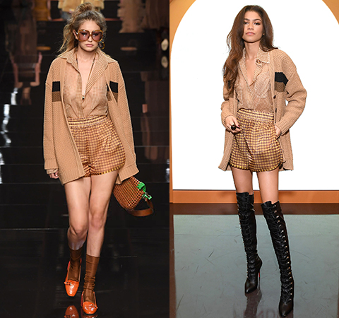 Модная битва: Джиджи Хадид против Зендаи