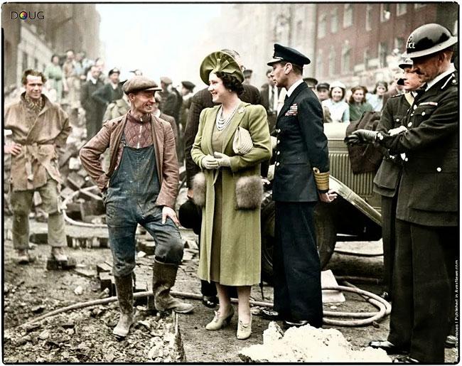 Раскрашенные снимки Второй мировой войны – как будто сделаны вчера