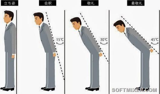 Любопытные особенности японского национального этикета