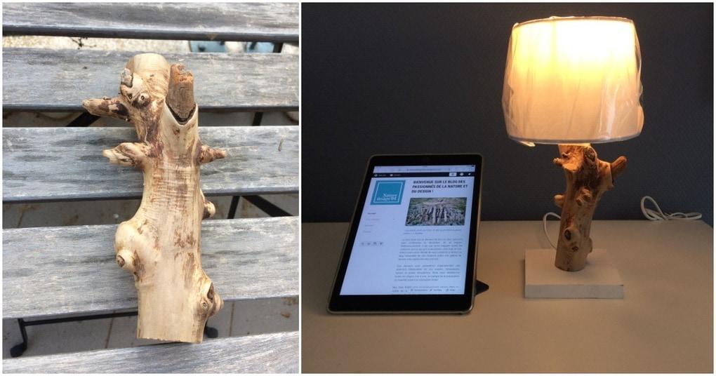 Лампа из коряги: уникально, стильно, самодостаточно
