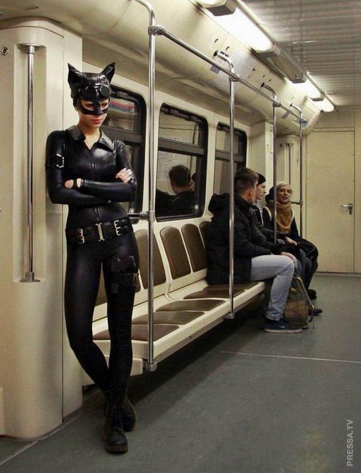 Суровые модники из метро