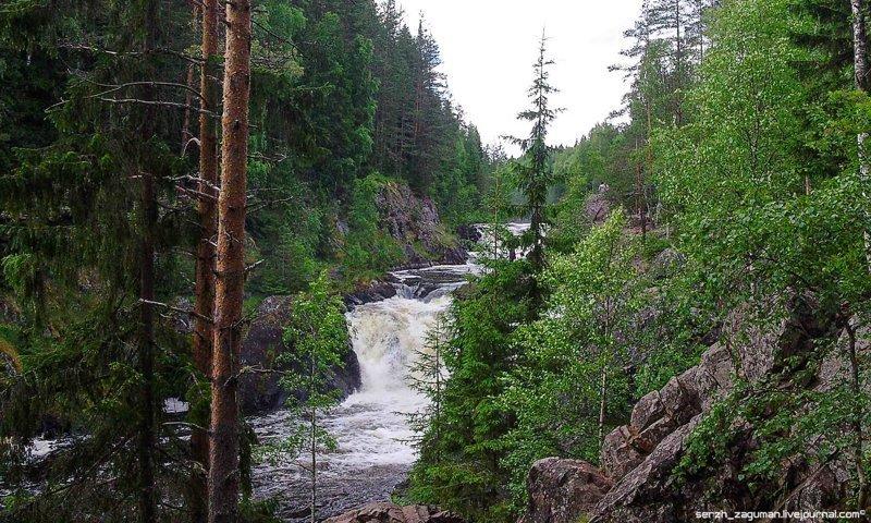 Олонецкое чудо. Водопад Кивач