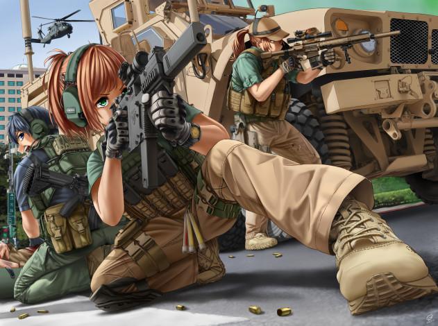 В детстве я  хотела быть солдатом...
