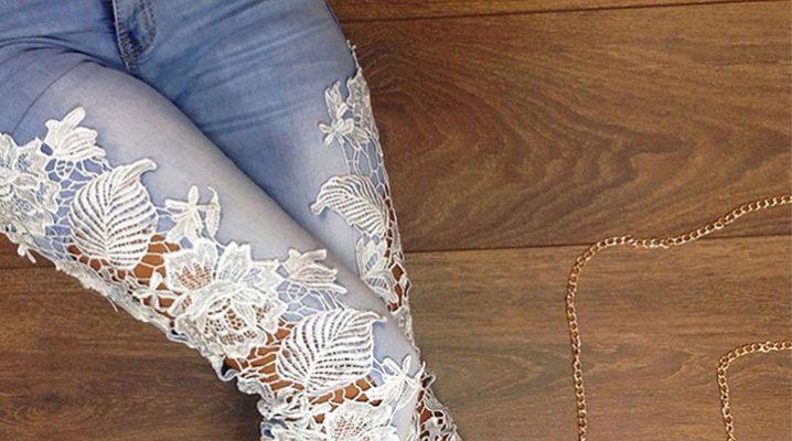 Кружевная вышивка