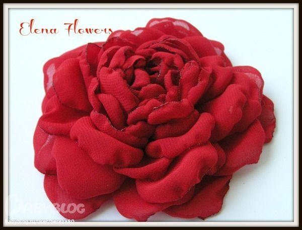 Шифоновая Роза. Очень просто!