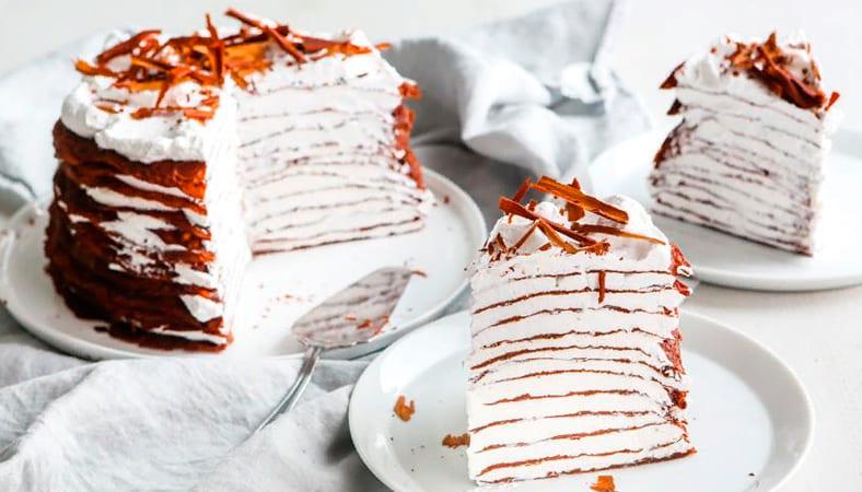 Вкуснейший блинный торт в домашних условиях: 7 простых рецептов блины,вкусные новости,десерты,кулинария,сладкая выпечка,торты