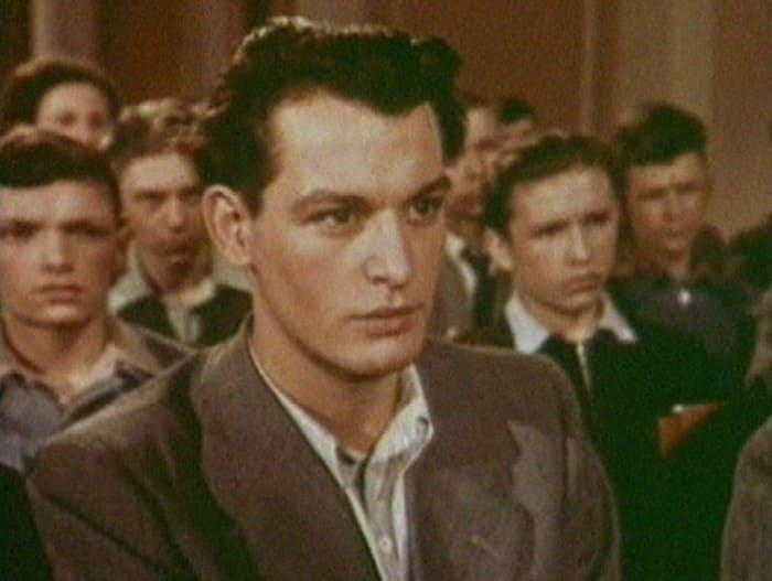 Дебютная роль Ланового – в фильме *Аттестат зрелости*, 1954   Фото: kino-teatr.ru