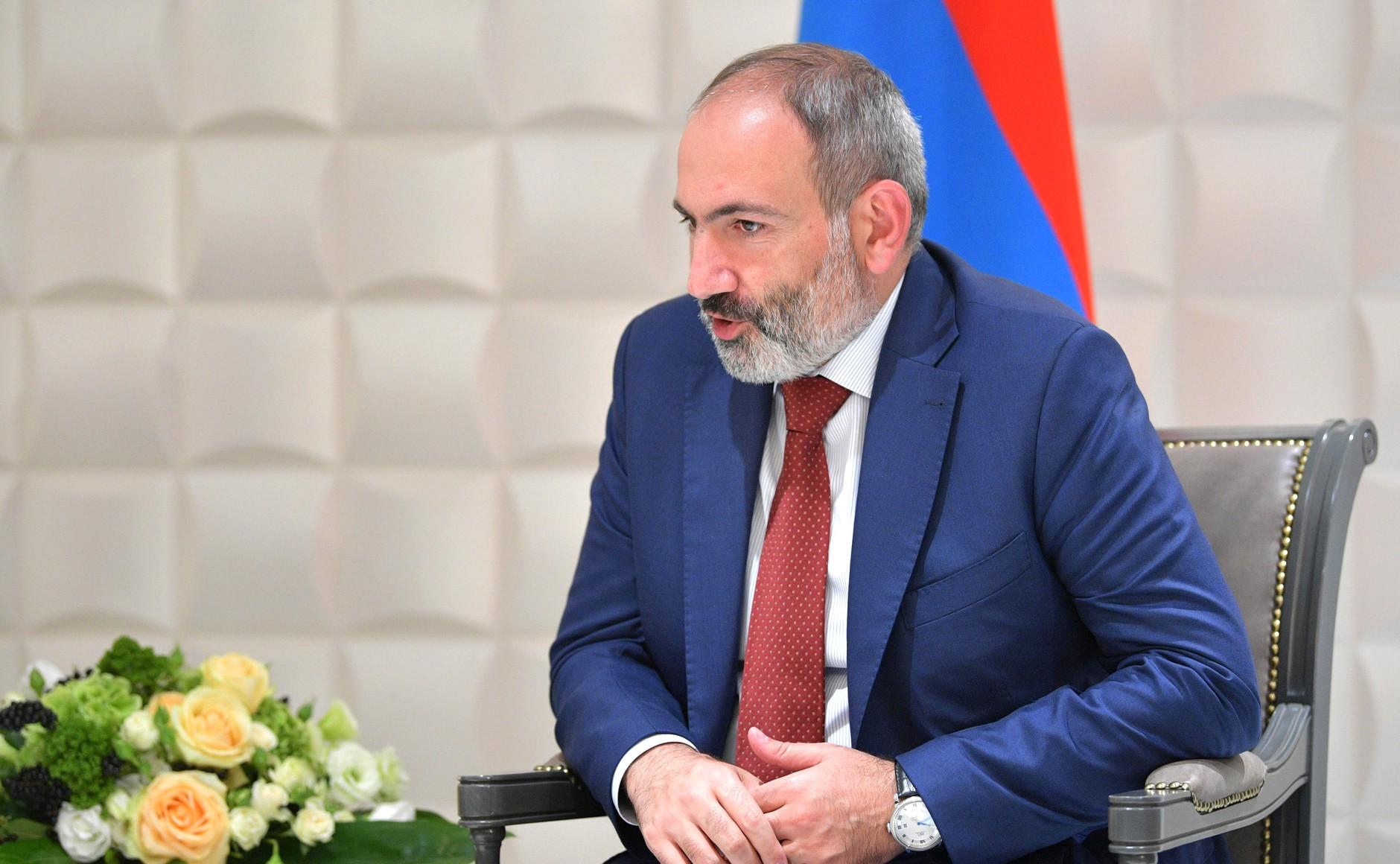 Пашинян написал письмо Путину о помощи Армении