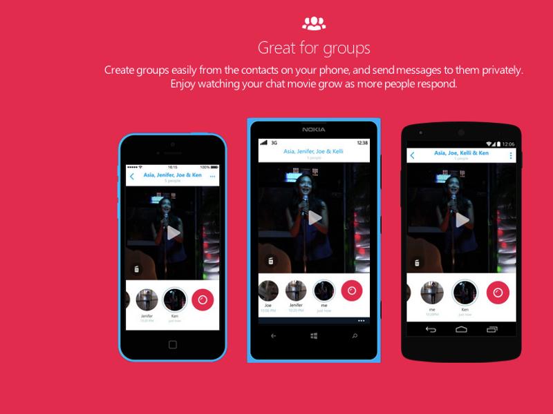 Skype Qik: новый видеомессен…
