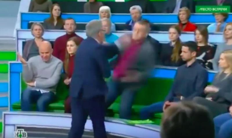 Норкин подрался с Суворовым