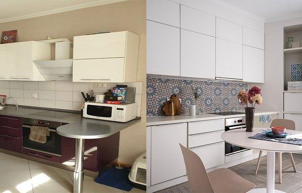 До и после: невероятные преображения «убитых» кухонь