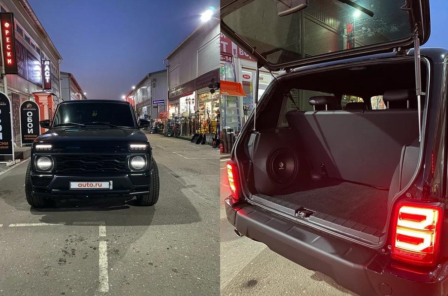 «Ниву» с рулем от Mercedes-AMG G63 продают за 1,5 миллиона рублей Новости