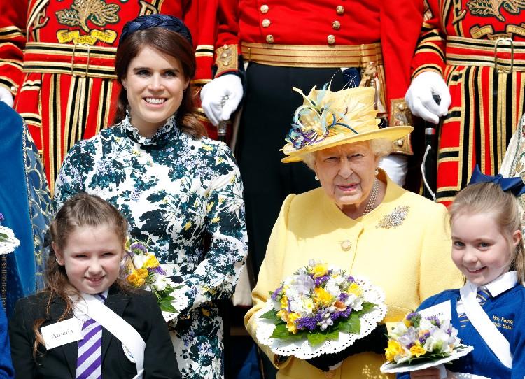 Принцесса Евгения внезапно отменила крестины своего пятимесячного сына Монархи,Британские монархи
