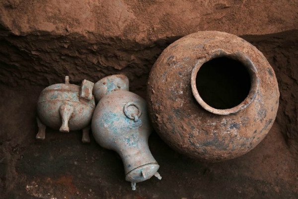 При раскопках на западе Китая нашли 2000-летний алкоголь