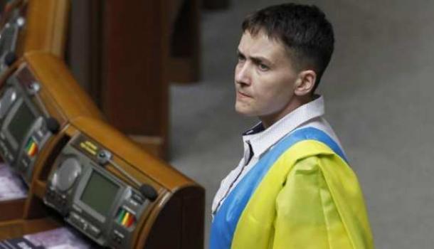 Надежда Савченко рассказала, как жили древние укры